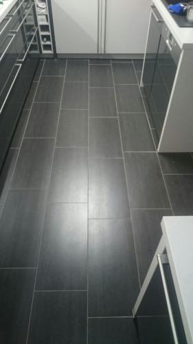 Küchenboden - einmal neu